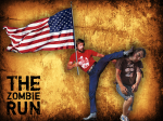4th of July Facebook post for The Zombie Run